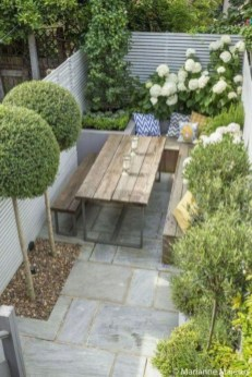 Backyard design for small areas that remain comfortable to relax 42