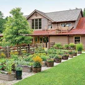 Garden design that is refreshing and comfortable 06