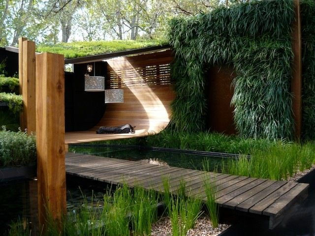 Garden design that is refreshing and comfortable 20