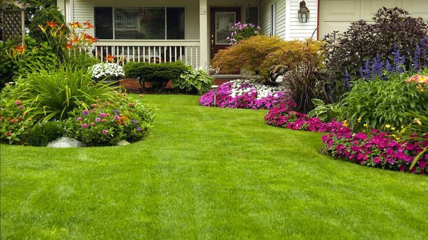 Garden design that is refreshing and comfortable 47
