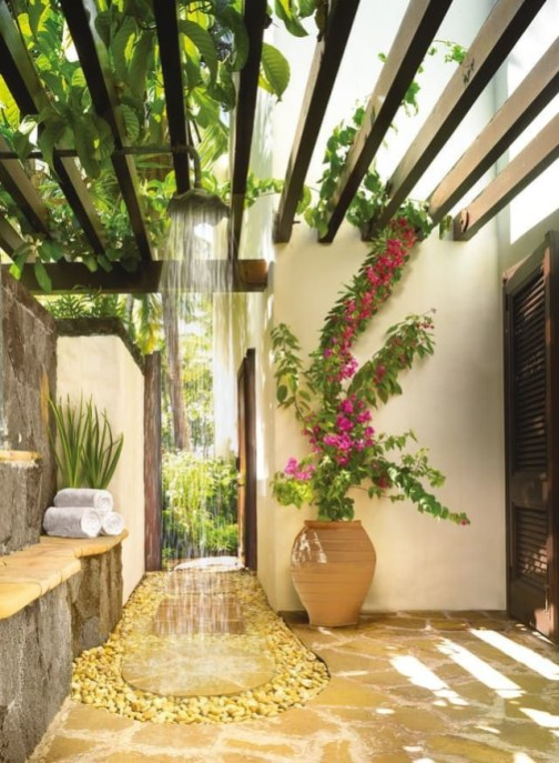 Garden design that is refreshing and comfortable 51