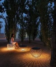 Garden lamp design ideas that make your home garden looked beauty 40