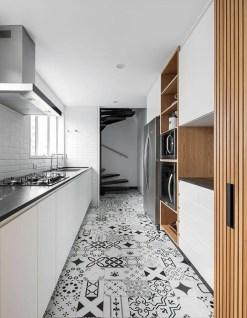 Kitchen floor design with the best motives 19