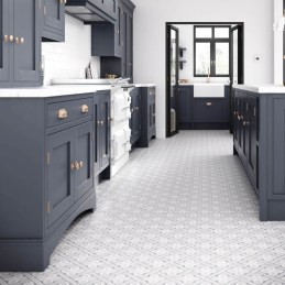 Kitchen floor design with the best motives 28