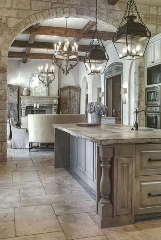 Kitchen floor design with the best motives 42