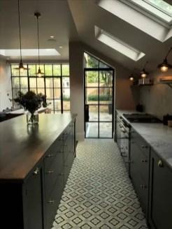 Kitchen floor design with the best motives 54
