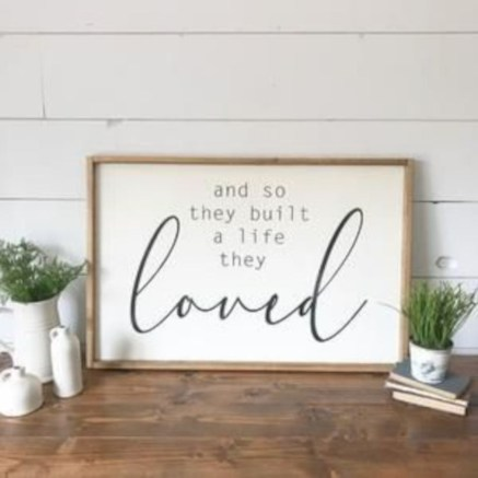 Rustic home decoration diy that you can try 27