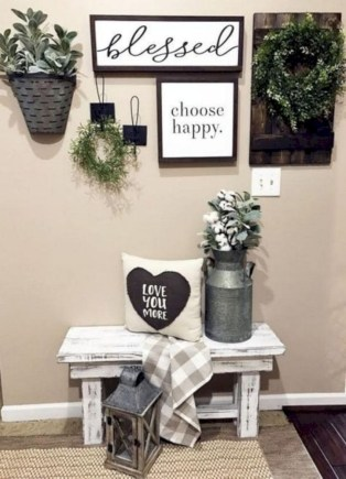 Rustic home decoration diy that you can try 29