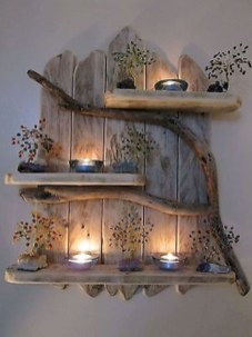 Rustic home decoration diy that you can try 50