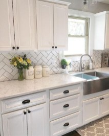 Rustic kitchen cabinet design ideas are very popular this year 14