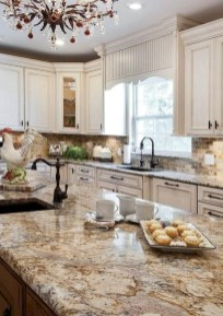 Rustic kitchen cabinet design ideas are very popular this year 23