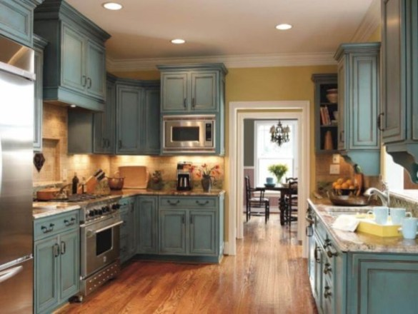 Rustic kitchen cabinet design ideas are very popular this year 28