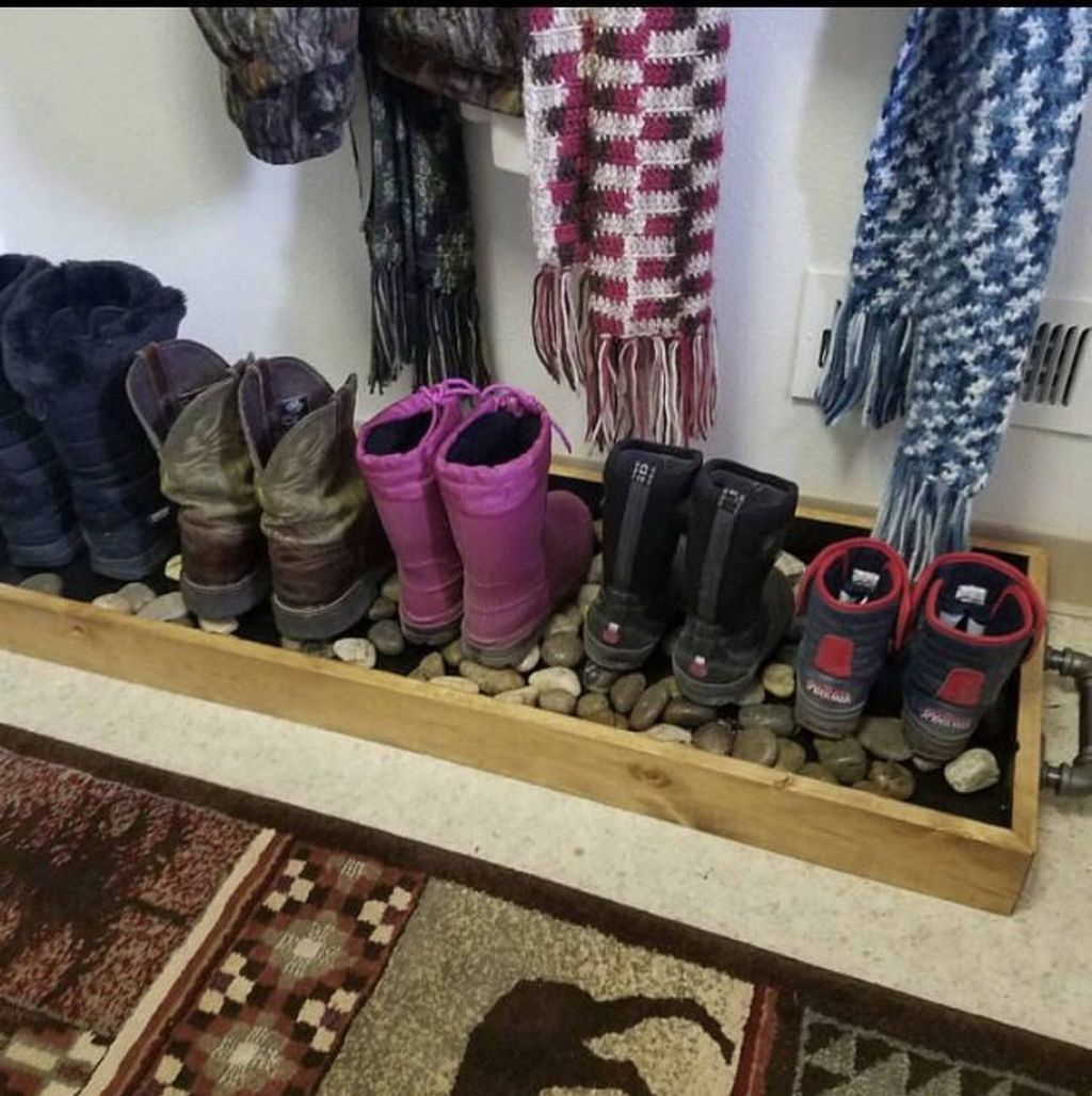 Shoes rack design ideas that many people like 21