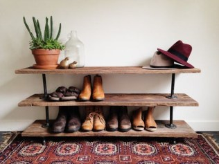 Shoes rack design ideas that many people like 29
