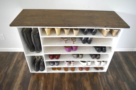 Shoes rack design ideas that many people like 38