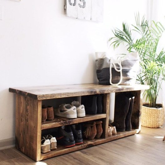 Shoes rack design ideas that many people like 51