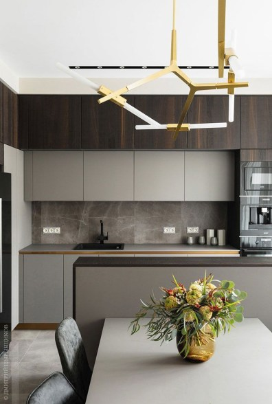 Simple kitchen design ideas that you can try in your home 36