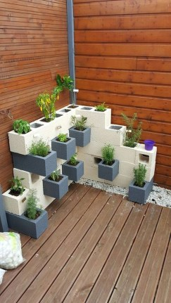 The best cinder block garden design ideas in your frontyard 42
