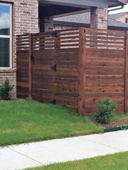 The best fence wooden design that you can try in your home 03