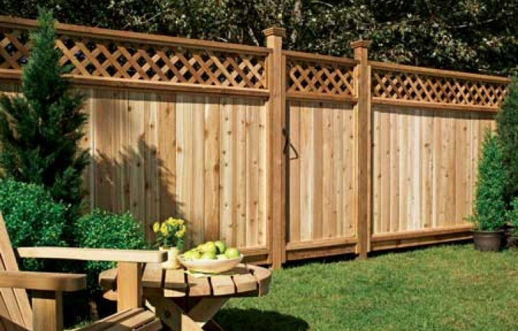The best fence wooden design that you can try in your home 15