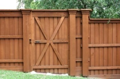 The best fence wooden design that you can try in your home 24
