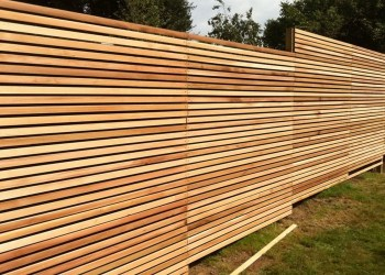 The best fence wooden design that you can try in your home 30