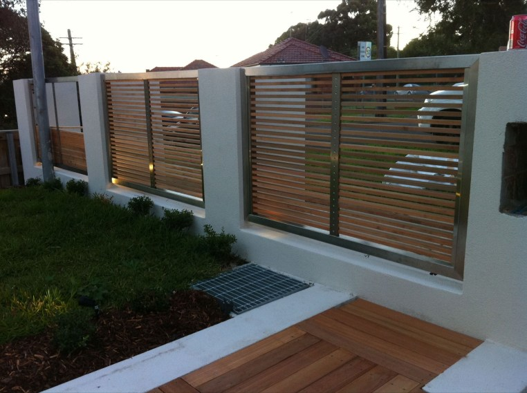The best fence wooden design that you can try in your home 40