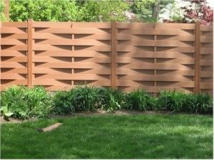 The best fence wooden design that you can try in your home 45