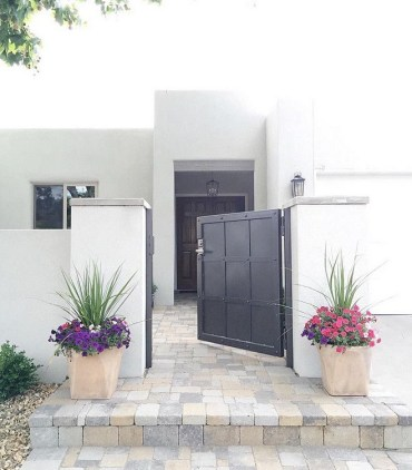 The best gate design ideas that you can copy right now in your home 03