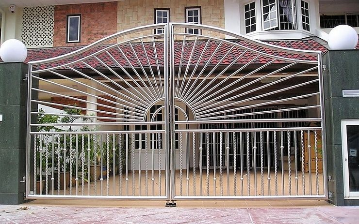 The best gate design ideas that you can copy right now in your home 49