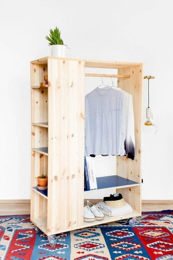 The best diy for wardrobe that you can try 17