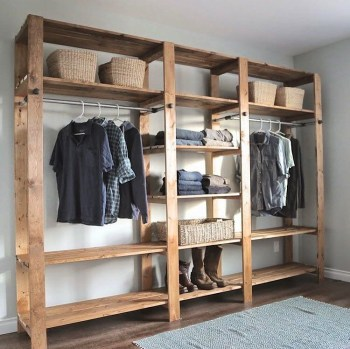The best diy for wardrobe that you can try 21