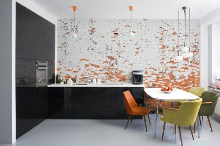 Amazing artistic wall design ideas for simple your home 02
