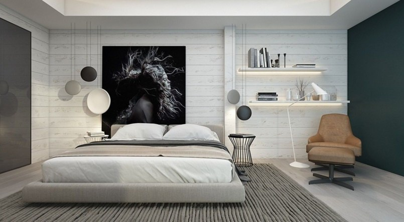 Amazing artistic wall design ideas for simple your home 17