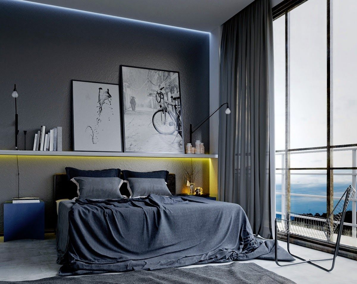 Amazing artistic wall design ideas for simple your home 19