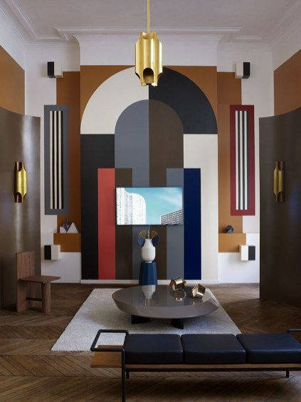 Amazing artistic wall design ideas for simple your home 20