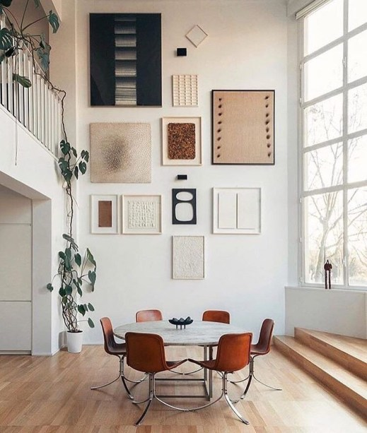 Amazing artistic wall design ideas for simple your home 32