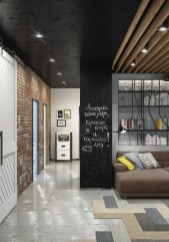 Amazing artistic wall design ideas for simple your home 44