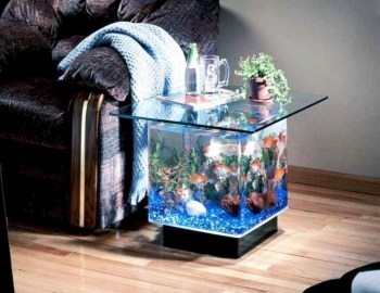 Aquarium design ideas that make your home look beauty 22