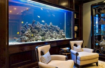 Aquarium design ideas that make your home look beauty 26
