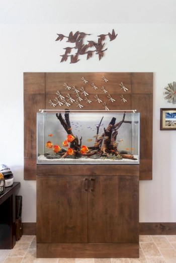 Aquarium design ideas that make your home look beauty 49