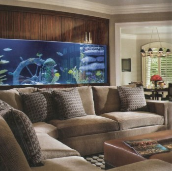 Aquarium design ideas that make your home look beauty 52