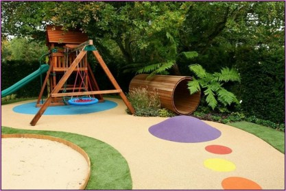 Backyard design ideas for kids 33