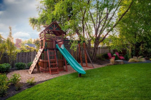 Backyard design ideas for kids 35