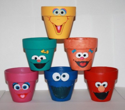 Flower pot decoration ideas that you can try in your home 20