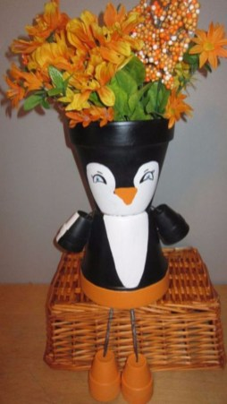 Flower pot decoration ideas that you can try in your home 45