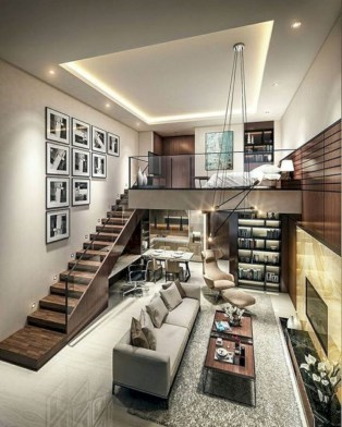 Minimalis interior design that you can try in your dream home 38
