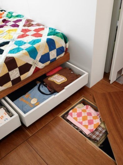 Smart hidden storage solution design that you can try in your home 23