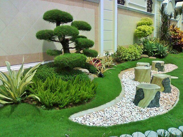 The best and stunning front yard design 25
