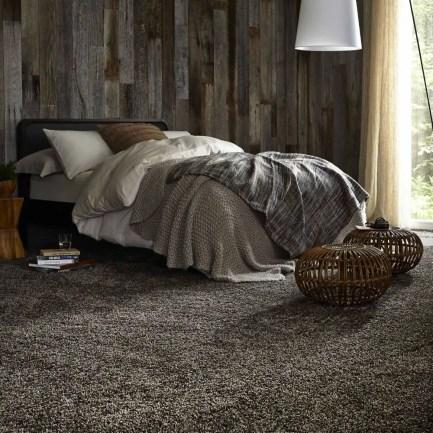 The best design of the carpet floor bedroom that inspiring 40